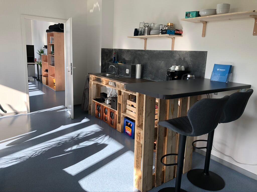 Küche von happyhotel