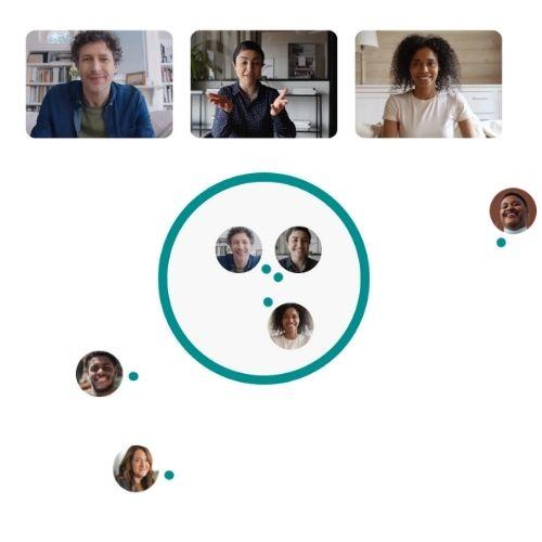Wonder.de Networking Areas