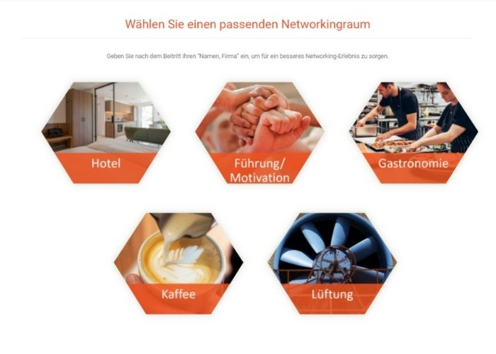 Networking Area digitale Intergastra 2021