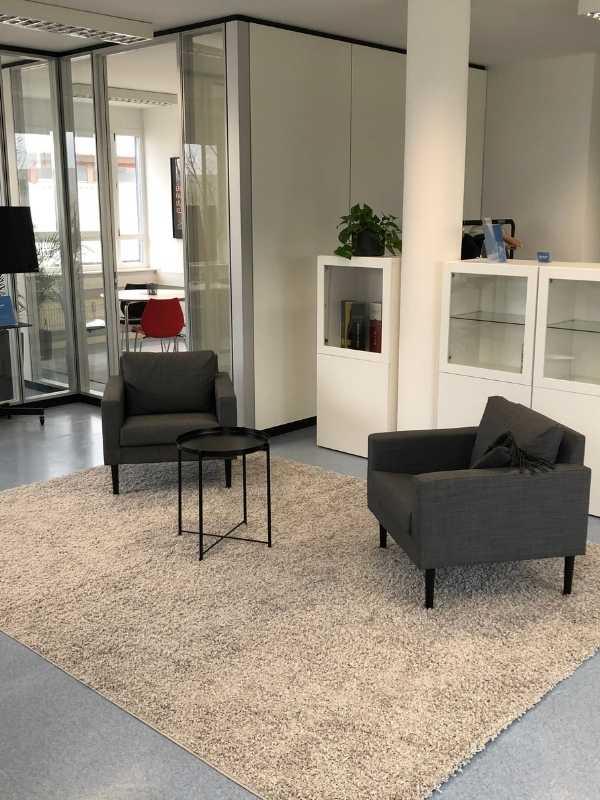 Sofaecke Büro happyhotel
