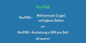 RevPAB Kennzahl im Revenue Management (1)
