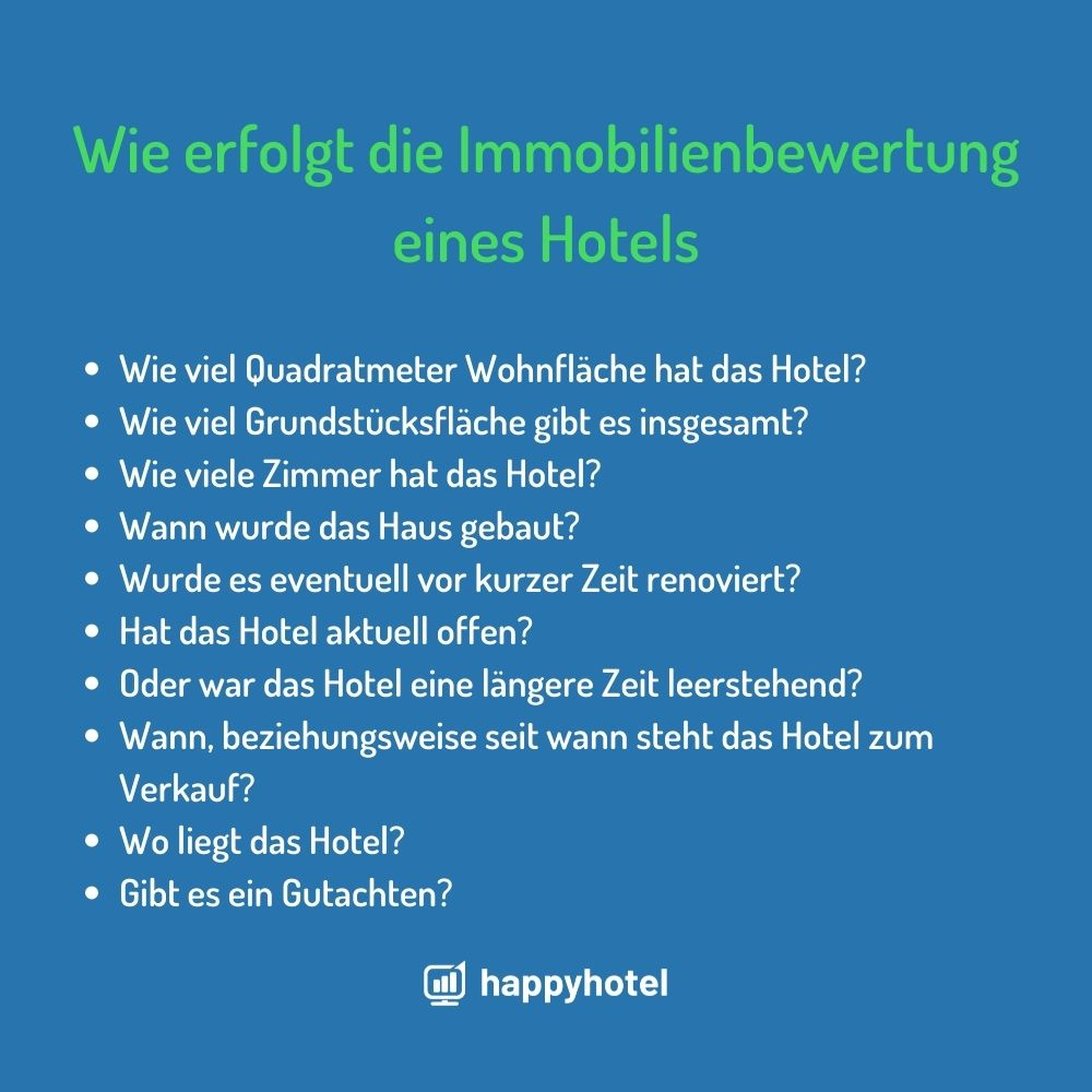 Immobilienbewertung hotel