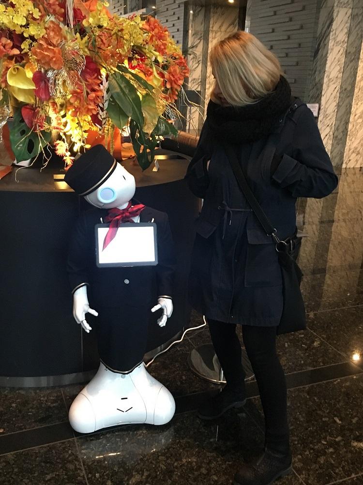 Roboter Hotel Japan